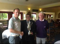 Bradford & District Rabbits Golf Association 18 Hole Team Championship Winners 2015. Nick Keefe and David Riley